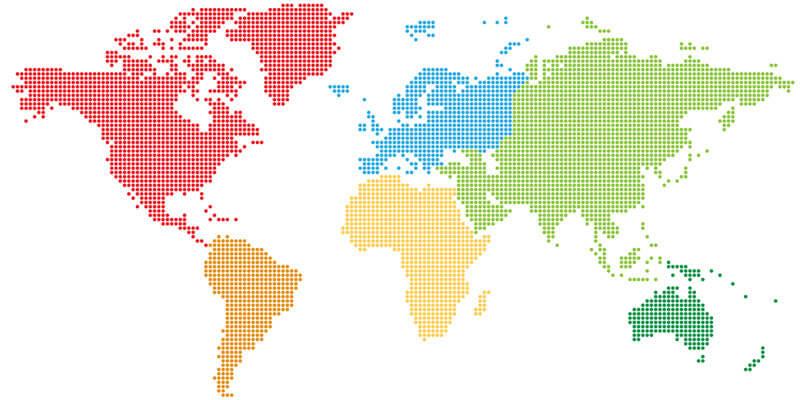 世界地図画像